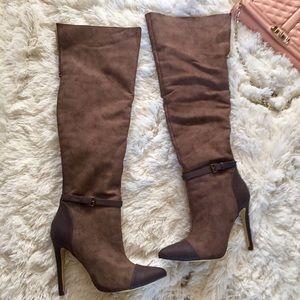 c5f0761d4dd Michael Antonio Shoes - Michael Antonio brown faux suede Oden OTK Boots 9